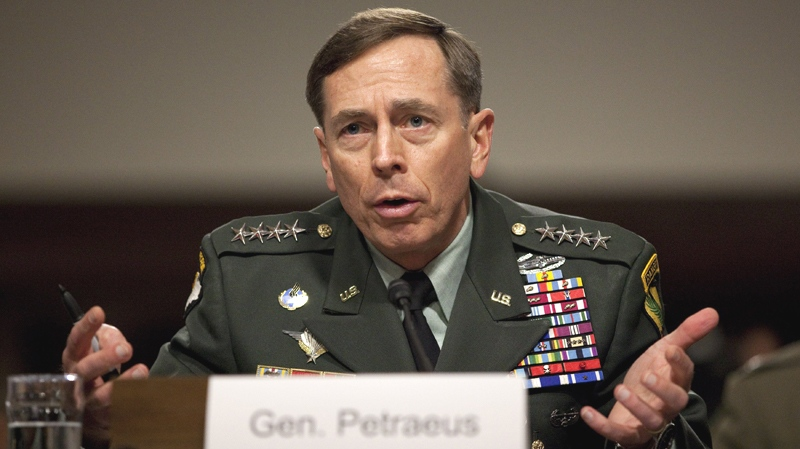 American CIA Director Gen. David Petraeus testifies on Capitol Hill in Washington, Tuesday, June 15, 2010. (AP / Evan Vucci)