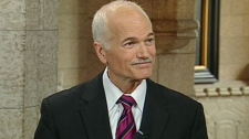 NDP Leader Jack Layton appears on CTV's Power Play from Ottawa, Tuesday, June 15, 2010.