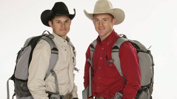 Jet McCoy, left, and Cord McCoy, competed in 'The Amazing Race 16.'