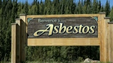 The Australian Broadcasting Corporation show asks two ad execs to design a couple of video ads for the town of Asbestos, Que.