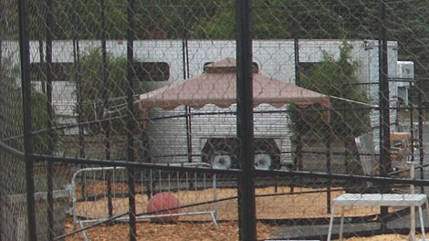 Picture from security footage of the zoo truck outside motel (Photo: Surete du Quebec)