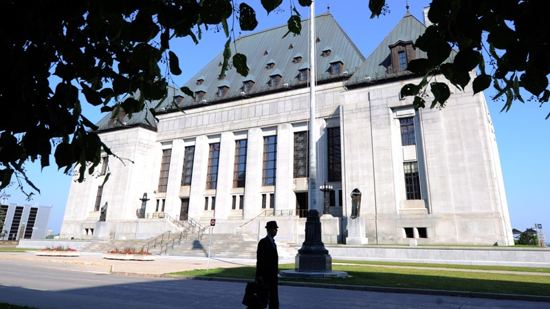 The Supreme Court of Canada.