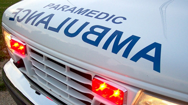 """Police say 10 seniors were transported to hospital by ambulance with what were described as """"minor injuries."""" (file)"""