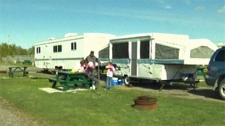 Mountain View Campground still has a few spots for the May long weekend.