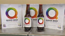Queer Beer will be available to Winnipeggers on Tuesday and a portion of the proceeds from the product will go to Pride Winnipeg.