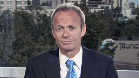 Treasury Board president Stockwell Day speaks with CTV's Question Period from Vancouver on Sunday, June 20, 2010.