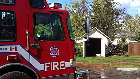 A suspect is in custody after a series of fires were set on the city's south side Saturday. May 19.