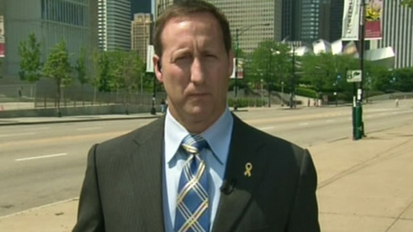 Defence Minister Peter MacKay speaks with CTV's Question Period from Chicago on Sunday, May 20, 2012.
