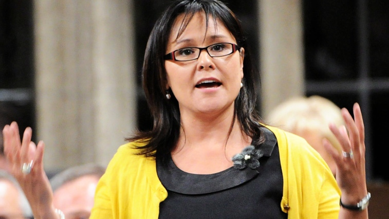Minister of Health Leona Aglukkaq responds to a question during Question Period in the House of Commons on Parliament Hill in this file photo. (Sean Kilpartick / THE CANADIAN PRESS)