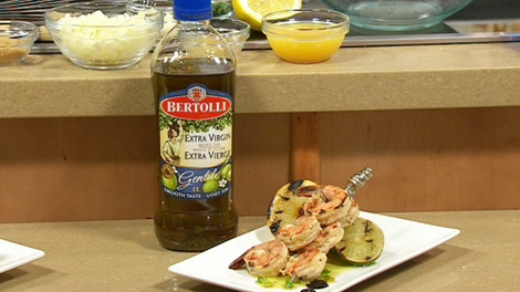 Chef Michael P. Clived shared his tips on cooking with olive oil, May 24, 2012.