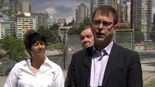 B.C. opposition leader Adrian Dix wants to work with Premier Clark to halt the planned closure of the Kitsilano Coast Guard. May 27, 2012. (CTV)