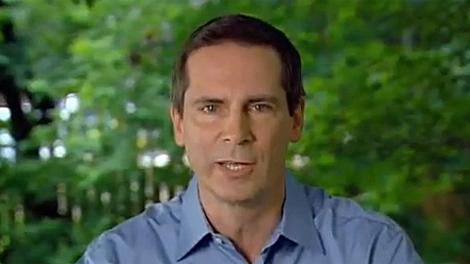 Ontario's Premier Dalton McGuinty tries to promote the HST as good for the province's economy in an online ad released on Monday, June 21, 2010.