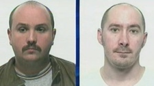 Kevin Maryk (left) and Robert Groen are slated to be extradited to Manitoba from Mexico to face child-abduction charges.