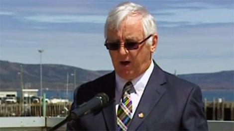 sterling belliveau, fisheries minister