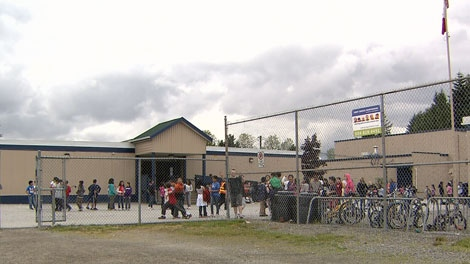 Parents say Mountainview Montessori in Surrey is overrun with mice. May 29, 2012. (CTV)