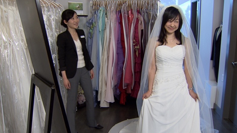 Say yes to the rental wedding dress | CTV Vancouver News