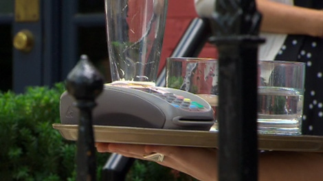 Fraudsters are targeting restaurant debit and credit machines on Thursday, May 31, 2012.