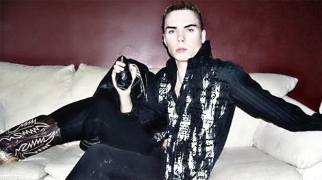 Rocco Luka Magnotta, the subject of a Canada-wide search warrant, is shown in a photo from the website www.luka-magnotta.com.