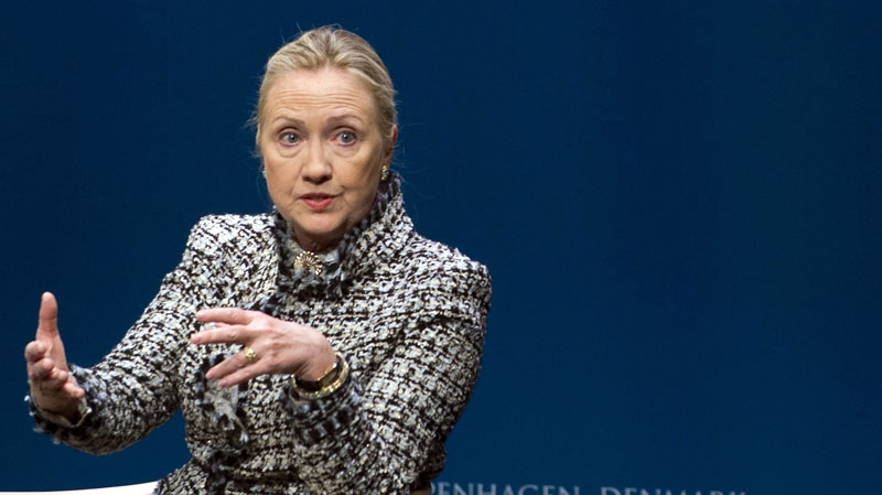 Hillary Clinton is expected to return to work after a concussion forced her to take almost three weeks off. (AP)