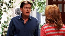 Charlie Sheen is seen in his new comedy 'Anger Management,' which will air on CTV.