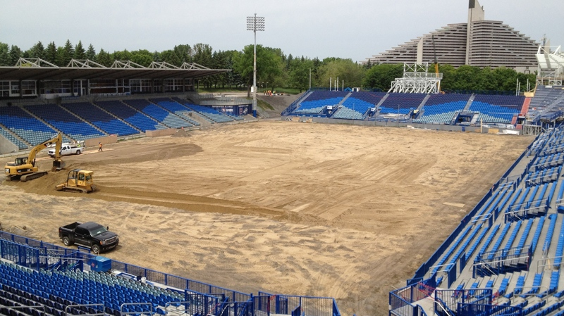 Saputo Stadium opens June 16. Photo Jason Clarke.