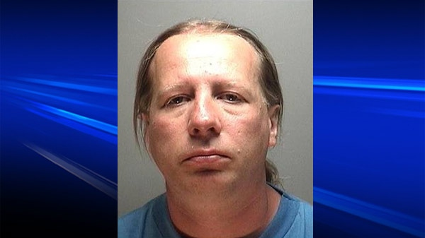 Danny Patrick Frail, 41, is seen in this image release by the Ontario Provincial Police.