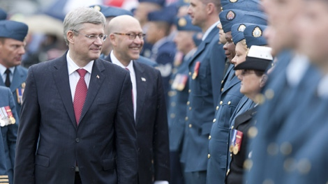 Harper, Canadian Forces