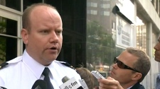 Ian Lafreniere of the Montreal police speaks about the identity of the dismembered victim and the ongoing manhunt for Luka Magnotta, Friday, June 1, 2012.