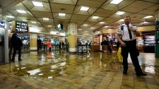 Union Station, Toronto, flooding, subway station, heavy rains