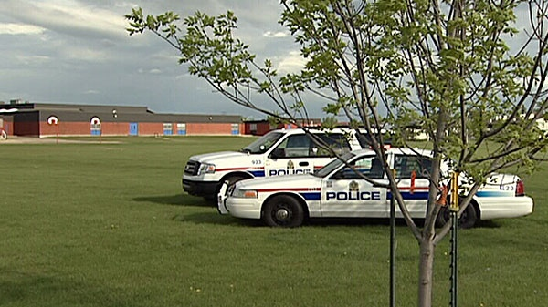 """A bomb squad was called to a south Edmonton playground Saturday after the discovery of """"homemade explosive devices."""" June 3."""