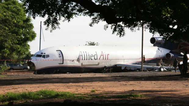 Boeing 727, Accra, Ghana, Kotoka International Airport