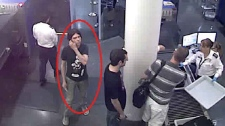This image provided by Interpol shows an undated photo of a person resembling Luka Rocco Magnotta. (Courtesy: Interpol)