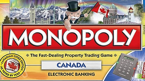 Monopoly Canada available June 28, 2010 at retailers across Canada.