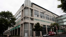 The central police detention facility of Berlin where Luka Rocco Magnotta is being held in Berlin, Germany