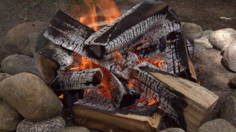 Campfires will be restricted by size in B.C. beginning on Canada Day. June 24, 2010. (CTV)