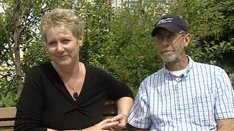 Katrine and Ed Conroy talk about their experiences as part of a six-way kidney transplant. June 24, 2010. (CTV)