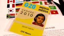 Geoff Nixon at G8/G20