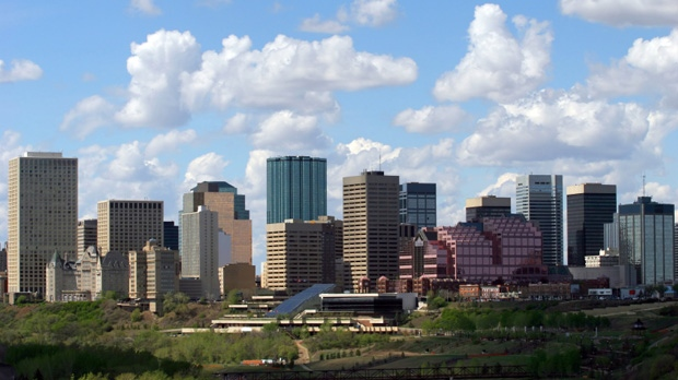 The Edmonton skyline is seen in this undated photo.