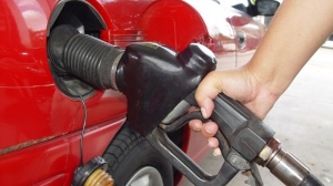 Gas Pumped into Vehicle