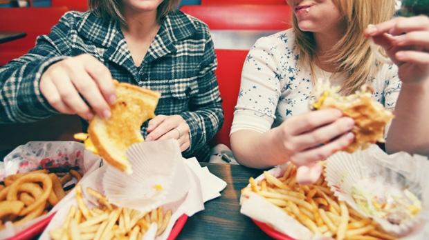 People Eat Fast Food