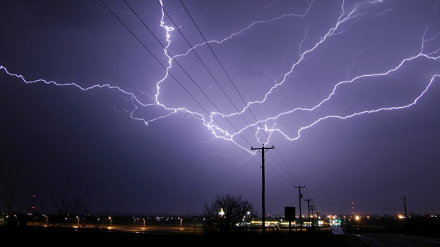 Lightning During a Storm