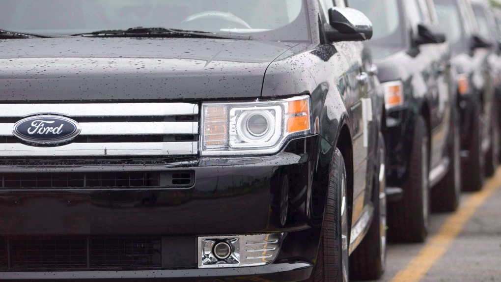 Ford Flex crossover vehicles
