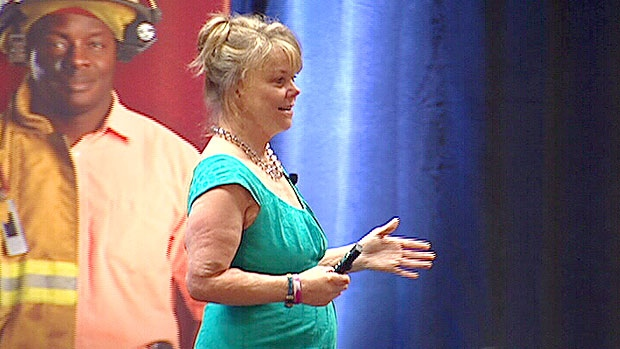 Kelly Falardeau, Alberta Fire Chiefs Conference