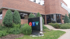The CTV Kitchener building.