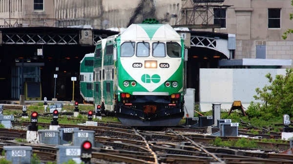 Image result for go train in union station