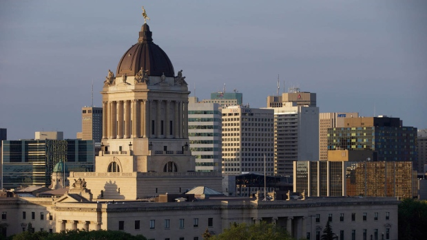 File image of the Manitoba Legislative Building.