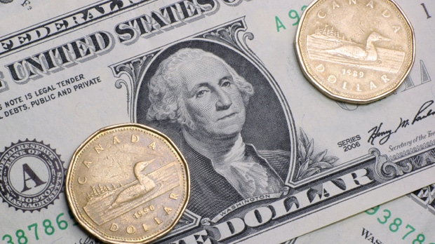 The value of the Canadian dollar might be falling, leading to grumbling among Canadian shoppers and travellers. But according to the country's top executives, the loonie's descent has been a good thing.