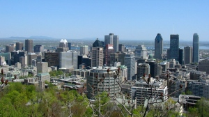 A view of Montreal, Quebec