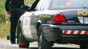 Oxford County OPP were contacted by a citizen regarding a weapon-related incident. (File image)