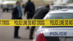 Police were called to the area of Dunview Avenue and Longmore Street at around 10 p.m. Friday night after receiving reports of a shooting in the area.